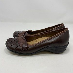 Hush Puppies Women's Brown Flats Size 7 A126